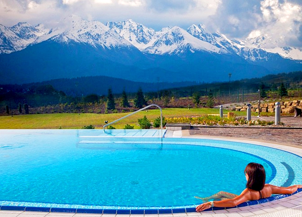 najlepsze baseny hotelowe - Bania