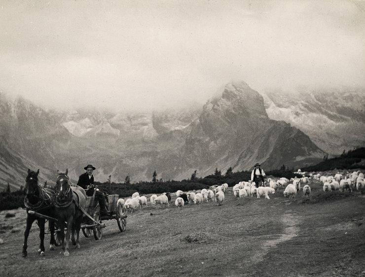 nieznane Tatry - zdjęcie ze zbiorów Muzeum Tatrzańskiego