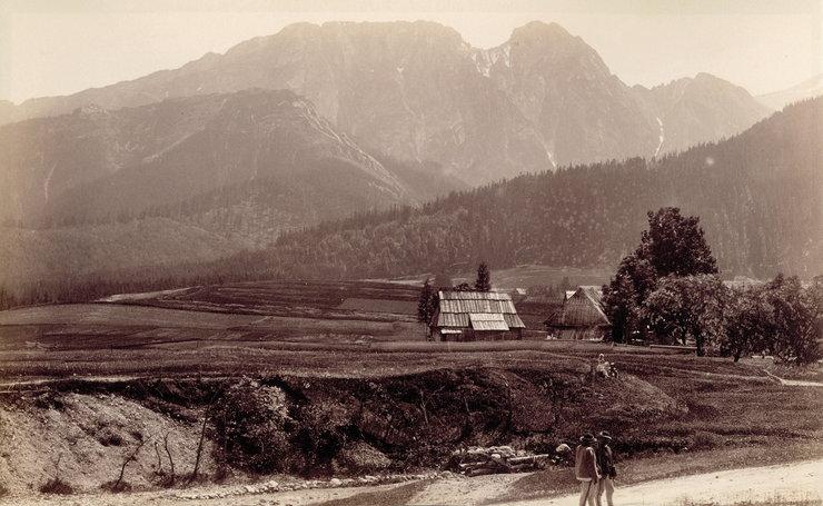 Tatry lata temu - zdjęcie ze zbiorów Muzeum Tatrzańskiego