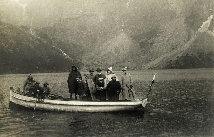 Wyprawa Morskim Okiem - zdjęcie ze zbiorów Muzeum Tatrzańskiego