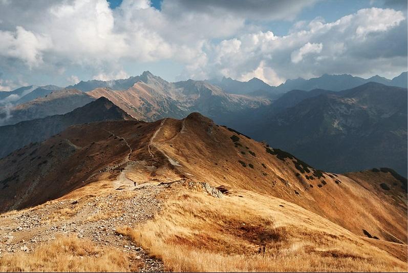 Szlaki górskie - Czerwone Wierchy
