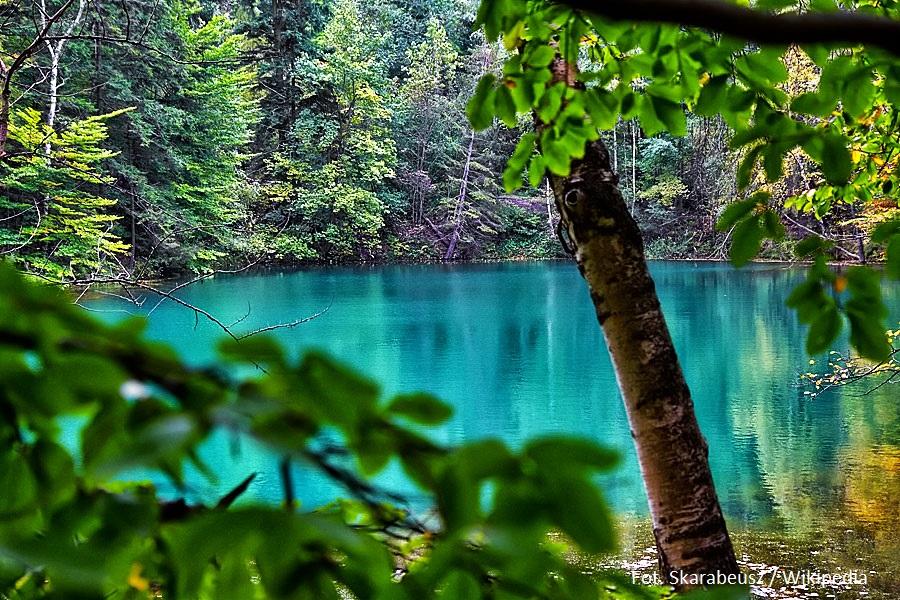 Anomalie i osobliwości - jeziorka