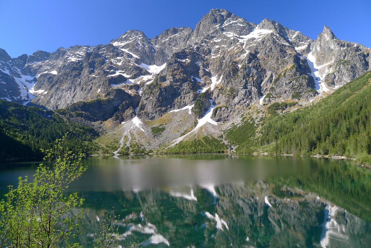 Szlaki górskie - Morskie Oko