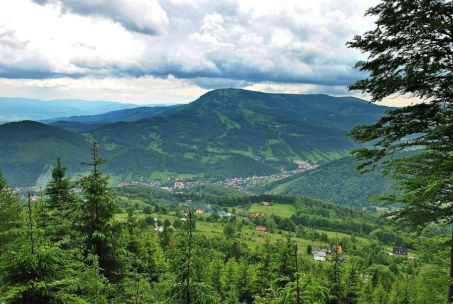 Szlaki górskie - Skrzyczne