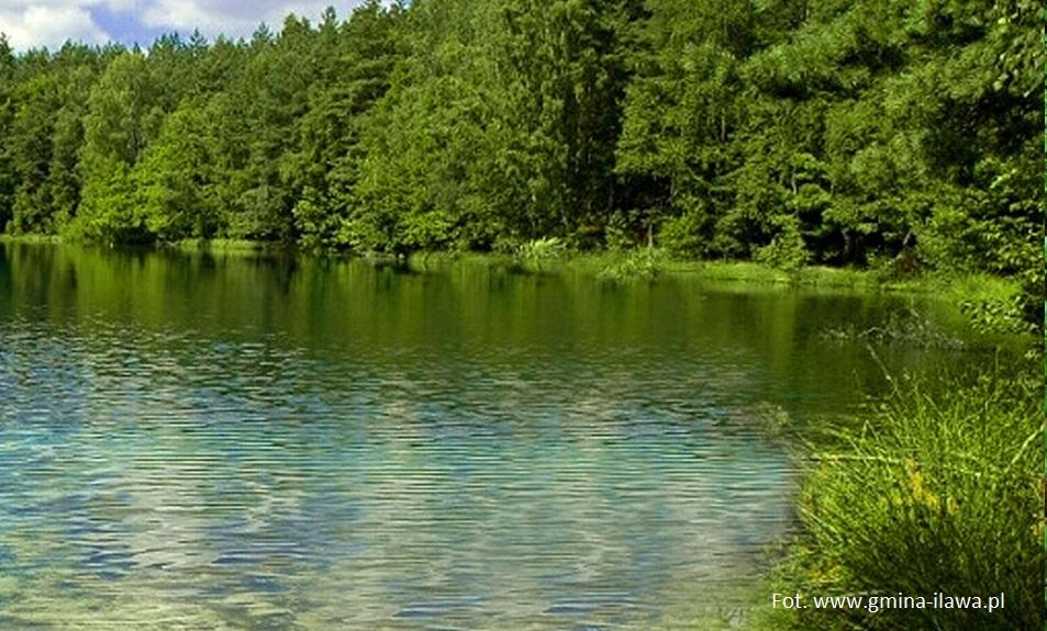 Anomalie i osobliwości - jezioro