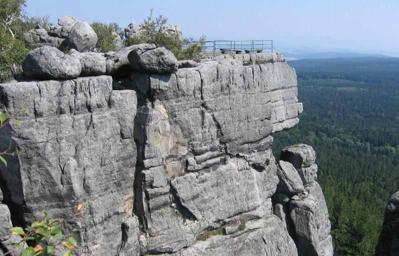 Szlaki górskie - Szczeliniec
