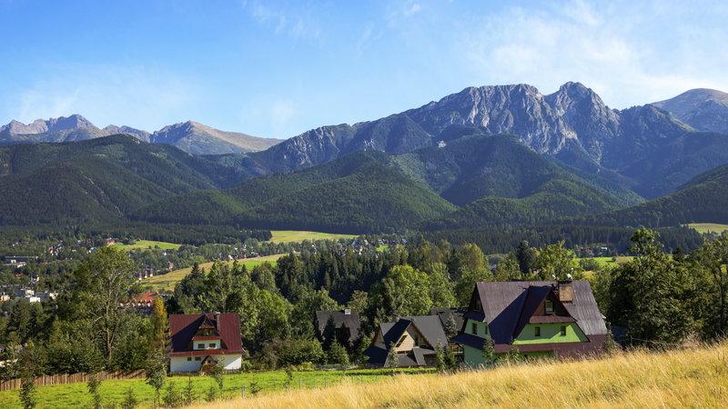 Górskie kurorty w Tatrach