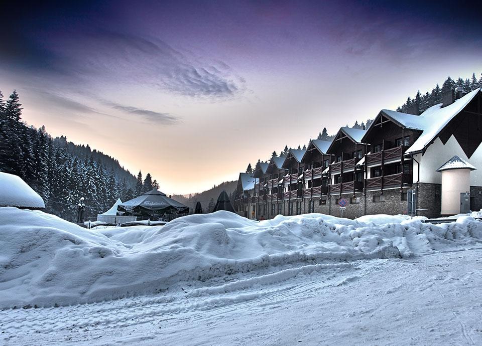 Hotel - sezon zimowy