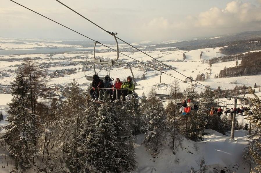 Ośrodki narciarskie - Czorsztyn Kluszkowce
