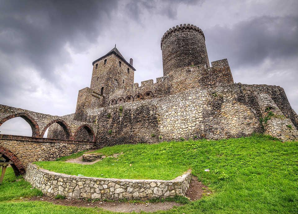Najpiękniejsze zamki w Polsce - Będzin