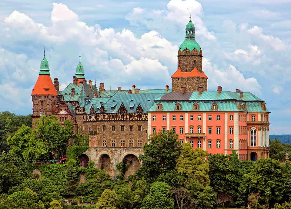 Najpiękniejsze zamki w Polsce - Książ