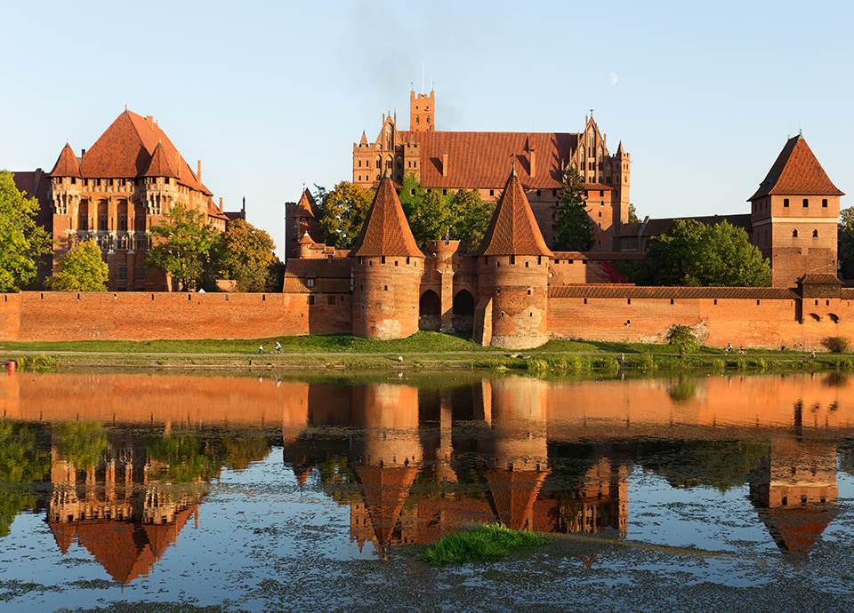 Najpiękniejsze zamki w Polsce - Malbork