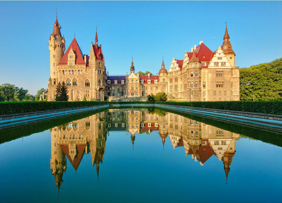 Najpiękniejsze zamki w Polsce - Moszna