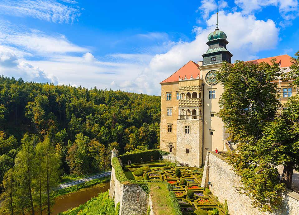 Najpiękniejsze zamki w Polsce - Pieskowa Skała