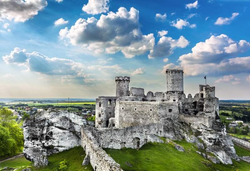 Najpiękniejsze zamki w Polsce - Ogrodzieniec