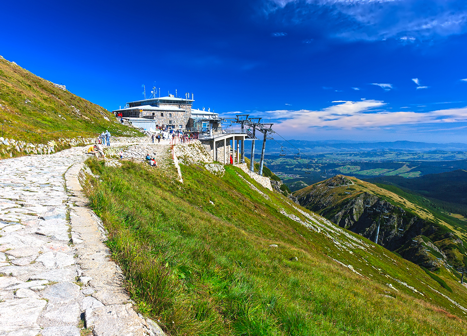 Atrakcje Tatr - Kasprowy Wierch