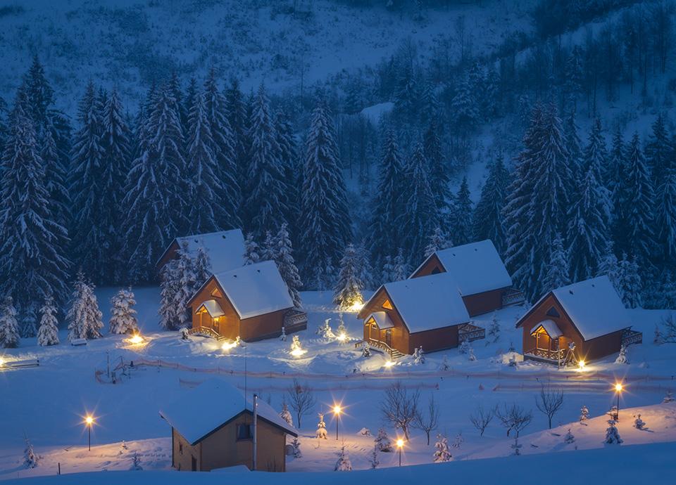 Święta inne niz wszystkie - łańcuchy w Beskidach