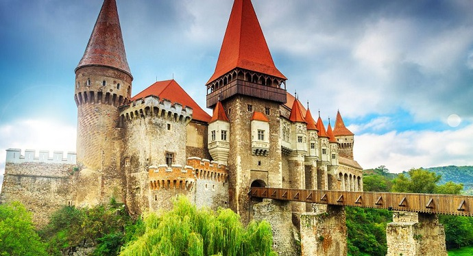 Zamki Europy - zamek w Hunedoarze, Rumunia