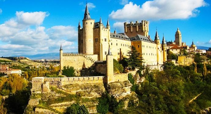Zamki Europy - Alcazar, Hiszpania