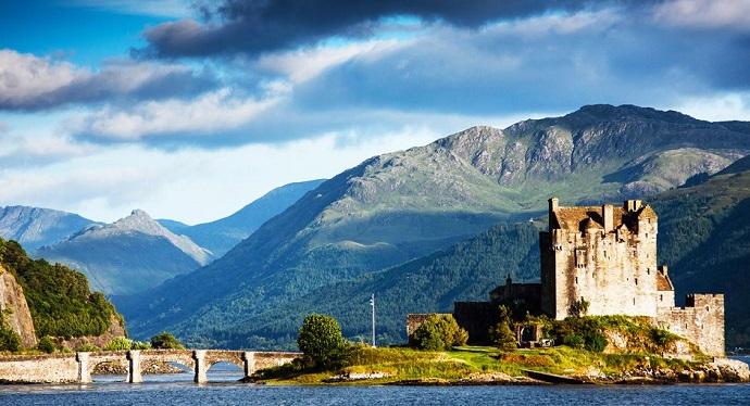 Zamki Europy - Eilean Donan, Szkocja