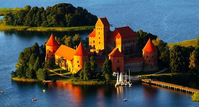 Zamki Europy - Troki, Litwa