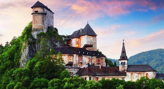 Zamki Europy - zamek Orawski