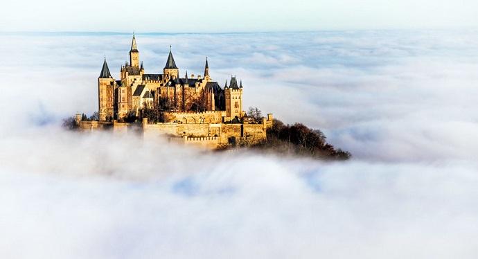 Zamki Europy - Hohenzollern, Niemcy