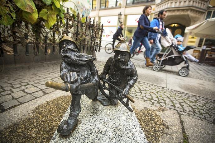 Bajkowe miejsca dla dzieci - Wrocław