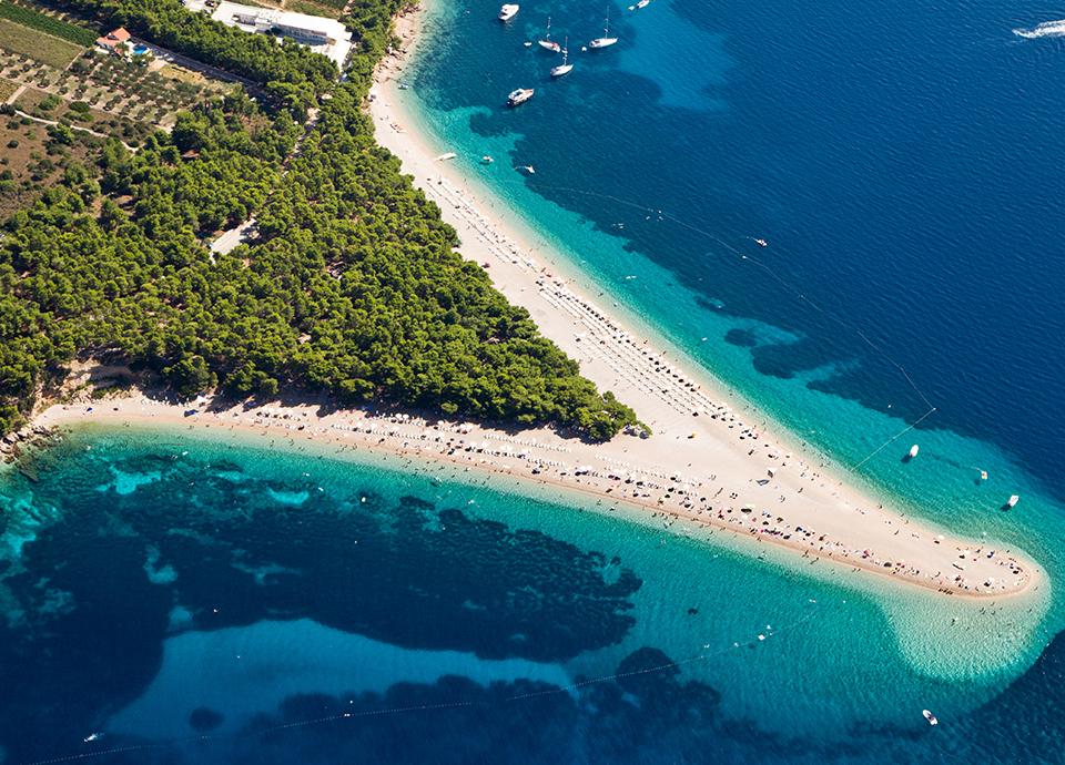 Chorwacja - Plaża Zlatni Rat