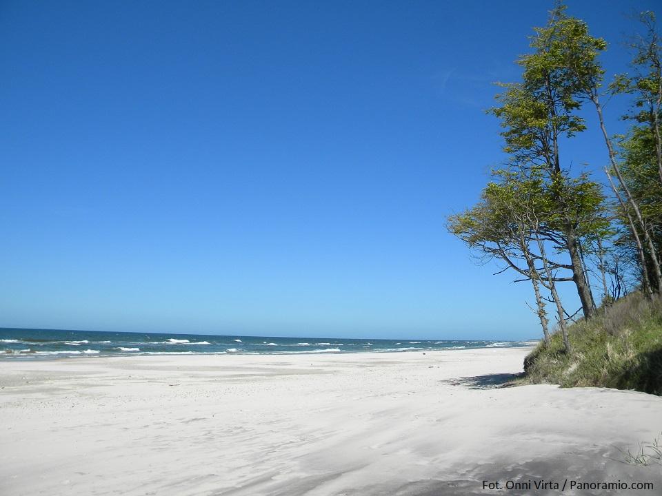 Polskie plaże bez tłoku - Poddąbie
