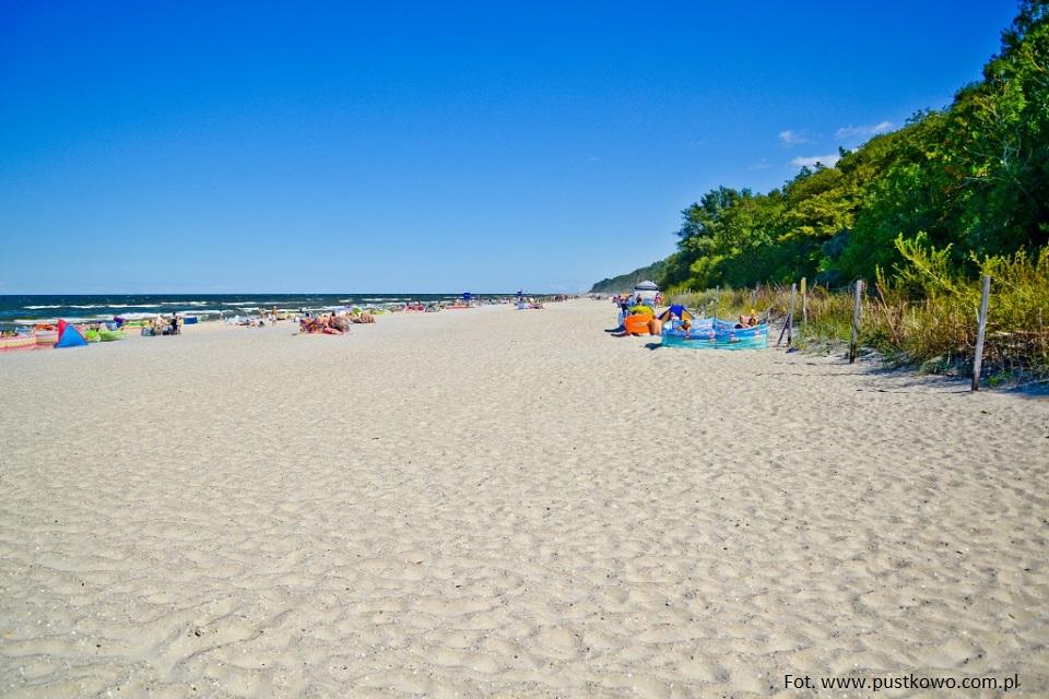Polskie plaże bez tłoku - Pustkowo