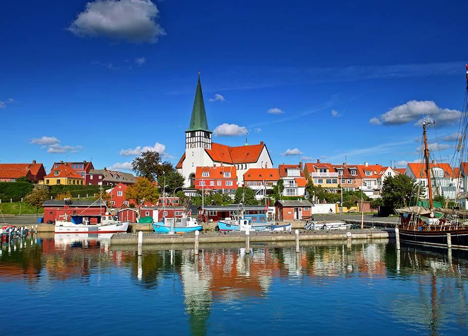 Bornholm - miasteczka