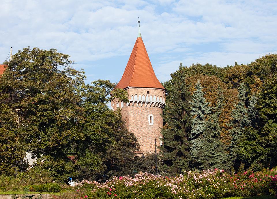 Kraków - Planty
