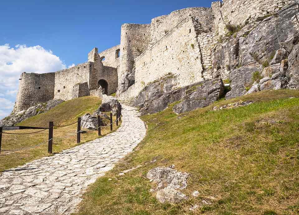Słowacja - Zamek Spiski