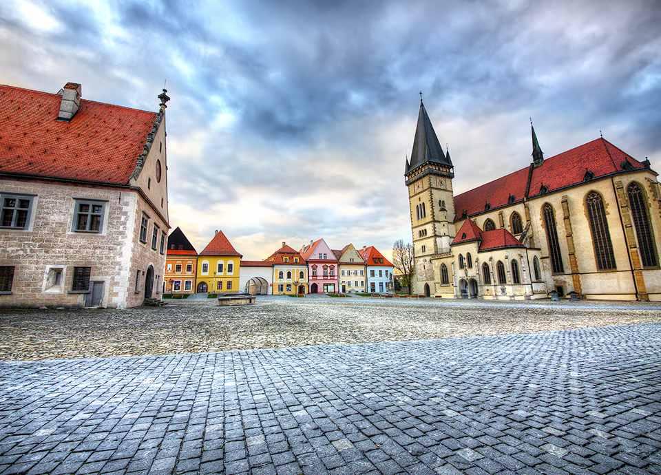 Słowacja - Bardejov