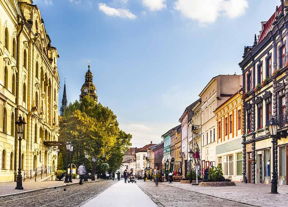 Słowacja - Koszyce
