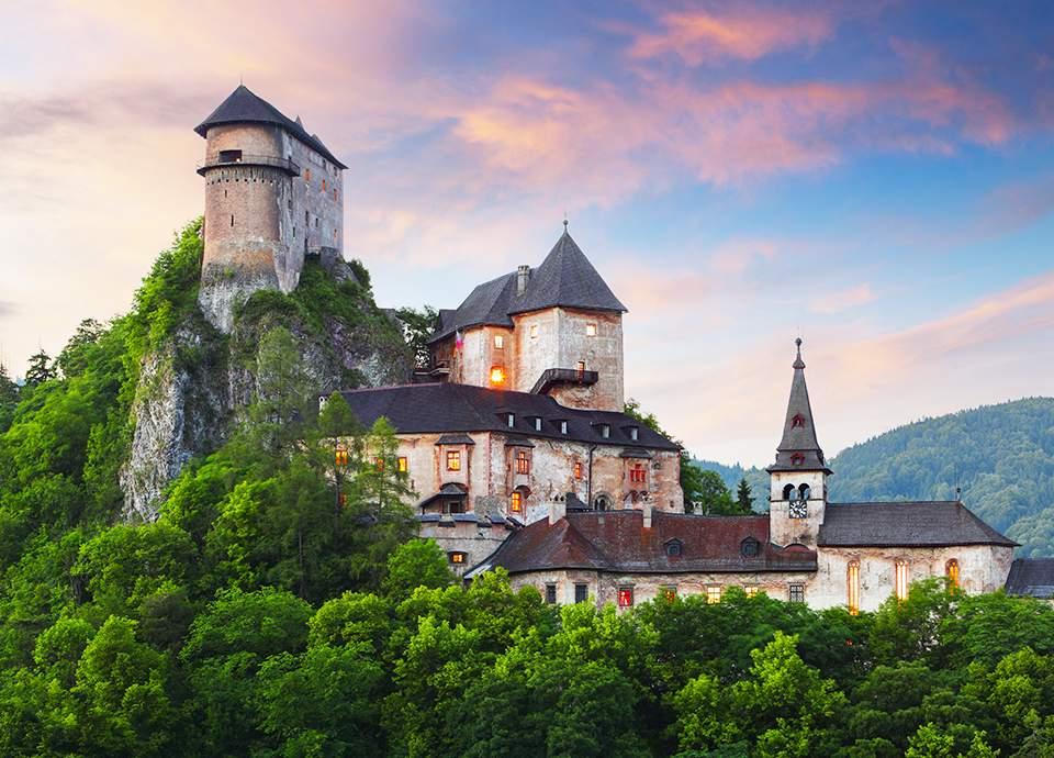 Słowacja - Zamek Orawski