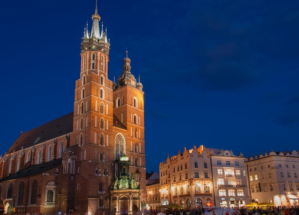 Kraków - Kościół Mariacki