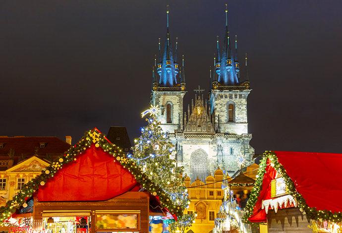 Jarmarki świąteczne - Praga
