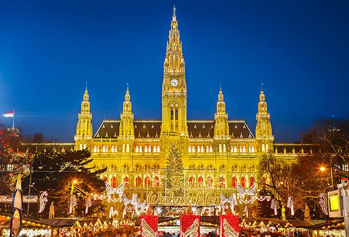 Jarmarki świąteczne - Wiedeń