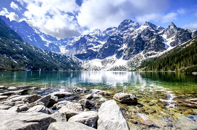 Górskie jeziora - Morskie Oko