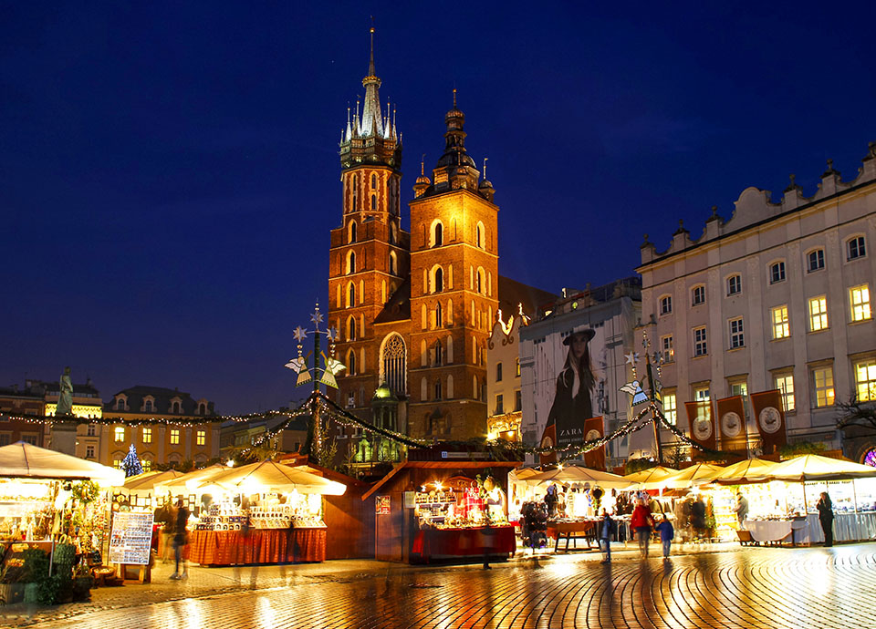 Jarmarki świąteczne - Kraków