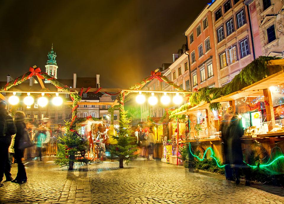Jarmarki świąteczne - Warszawa