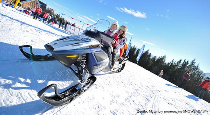 Zimowe atrakcje dla dzieci - snow zabawa