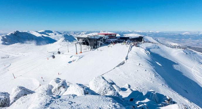 Stoki narciarskie, Słowacja - Chopok