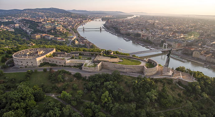 Budapeszt - Góra Gellerta