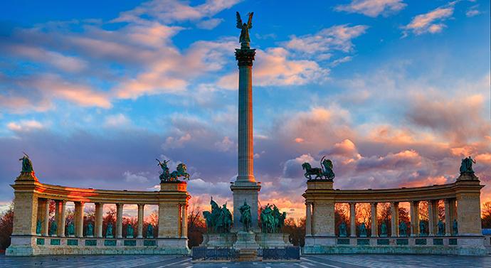 Budapeszt - plac Bohaterów