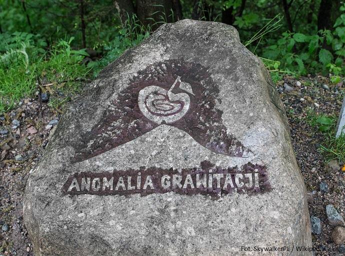 Oryginalne podróże - Anomalia Grawitacji