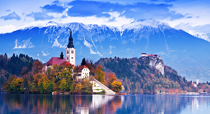 Słowenia i jej atrakcje - Bled