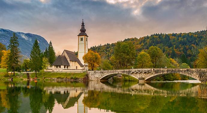 Słowenia i jej atrakcje - Dolina Bohinj